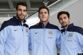 Arrival of Manchester City Squad in Hong Kong for the Barclays Asia Trophy