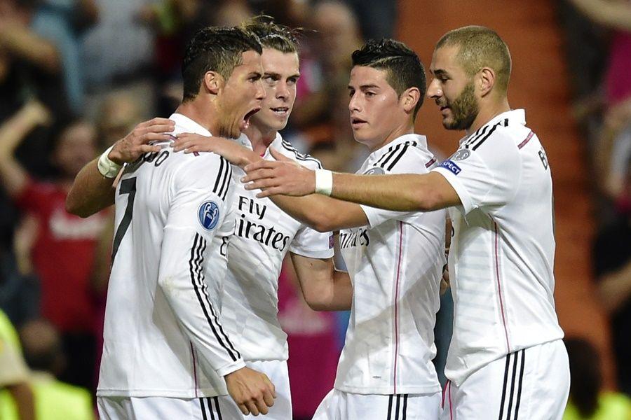 CR7, Bale, James Rodríguez e Benzema marcaram na vitória sobre o Basel