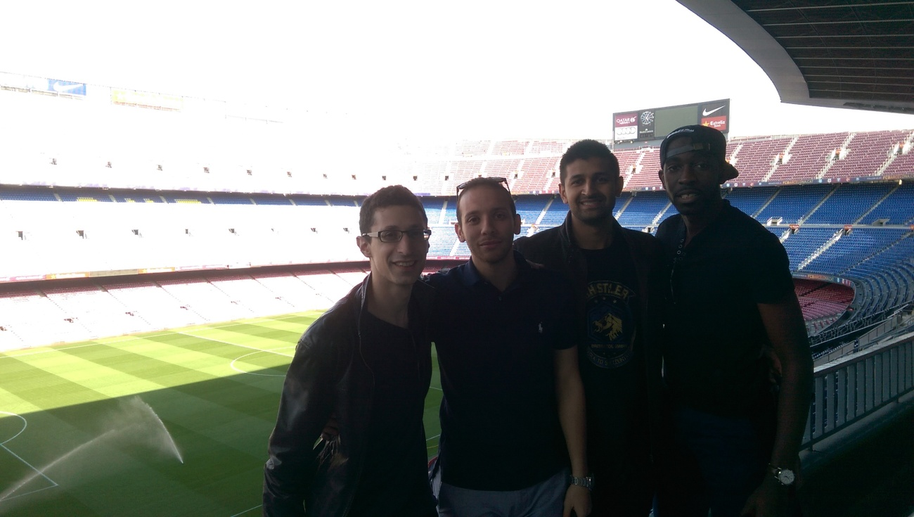 all inside camp nou