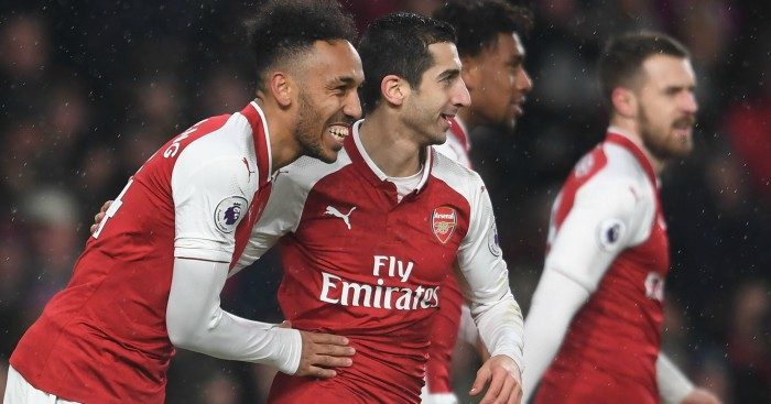 02648354a26 The Arsenal lineup in 2018 19 – Under The Cosh